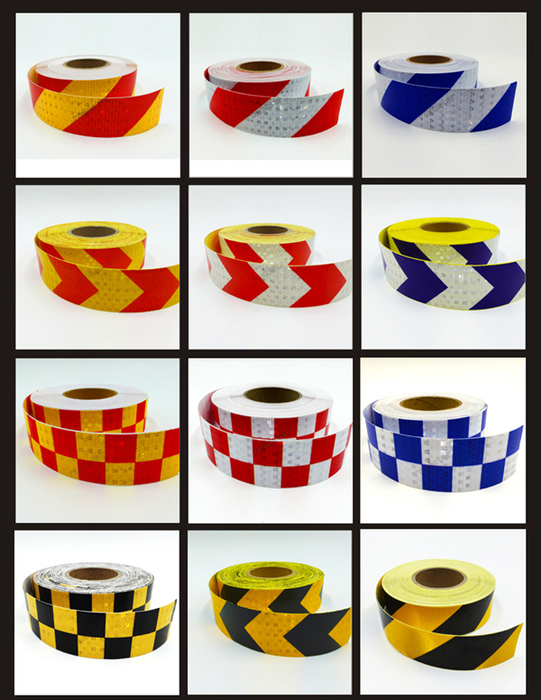 5cmx25m Reflective adhesive tape for car styling motorcycle decoration reflective warning tape 600X