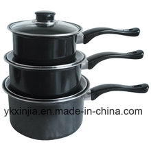 Aluminium Carbon Steel Non-Stick Sauce Pan Cookare Set