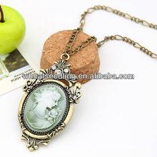 Fashion Alloy lady big diamonds necklace Vente en gros Collier Bijoux 09043069