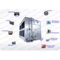 80 Ton Superdyma Circuit Fermé Cross Flow GHM-80 Superdyma Water Cooling Tower Fabricant Pour Air Compressor