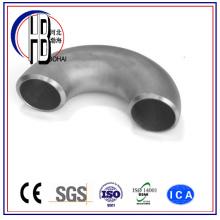 Raccord de tuyauterie en acier inoxydable de 180 degrés