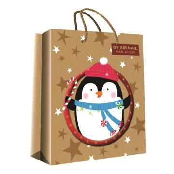 CHRISTMAS SERIES KRAFT GIFTBAG1-0