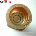 Gutentop 28mm Brass Non Return Double Check Valve For Air Conditioner