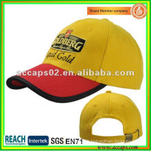 3d embroidery on flat embroidery baseball cap BC-0108