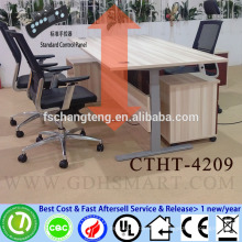 leading sales bamboo top height adjustable computer table price in hyderabad