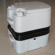 Inodoro portátil de plástico 12L