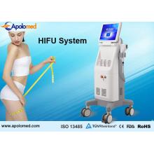 Hifu anti-vieillissement le plus populaire de retrait de ride pour le serrage de peau