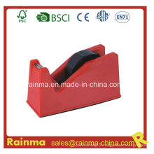 Dispensador de fita de plástico médio vermelho