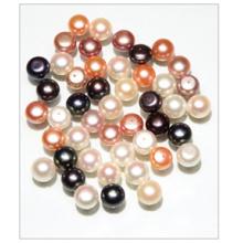Perla suelta, perlas de agua dulce, cuentas de perlas (dkh002)