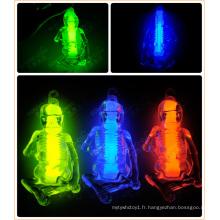Squelette en plastique squelettique Glowstick Glow Toy (M-48152)