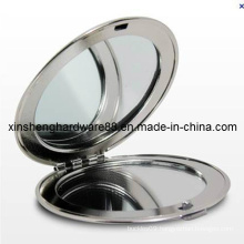 Metal Fashion Compact Mirror, Cosmetic Compact Mirror (XS-M0092)