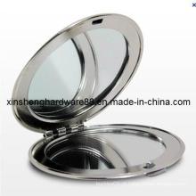 Metal espelho compacto da forma, espelho compacto cosmético (xs-m0092)