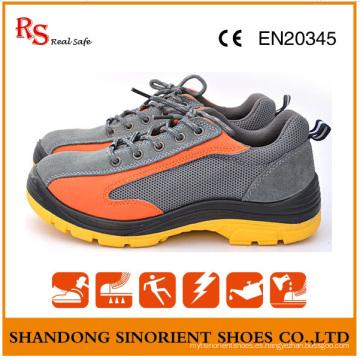 Zapatos de seguridad a prueba de ácidos de las señoras en la construcción RS803