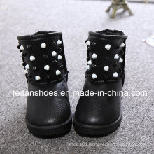 PU Upper Children Warm Snow Boots with Good Quality