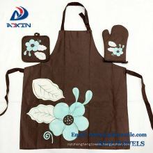 Hot selling kitchen apron sets ,cooking apron, oven mitt and heat-proof mat Hot selling kitchen apron sets ,cooking apron, oven mitt and heat-proof mat