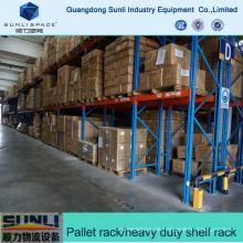 SGS Hersteller Schwergewichtsregal für die Lagerung von Frachtgut