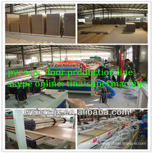 wood plastic compound pvc wpc door panel making machine