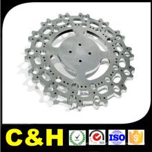 Acabamento natural aço inoxidável CNC moagem peças para máquina