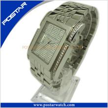 Quartz Watch Supplier Montre en acier inoxydable pour femmes Psd-2784