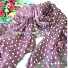 popular women polka dot scarf