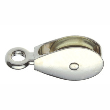 Metal Hardware Pulseras de alta calidad Ojo rígido con una rueda