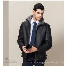 High Quality OEM Plus Size European Fashion Genuine Leather Jackets