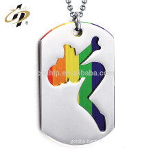 China factory wholesale antique poker custom dog tag pendant