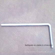 Pièces en métal d'accessoires de Headlock de bétail Pièces en métal de machine