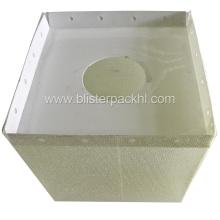 Caja de empaquetado de plástico de la caja ultrasónica (HL-054)