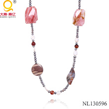 Fashion Pearl and Stone Necklace in China Manufacturer