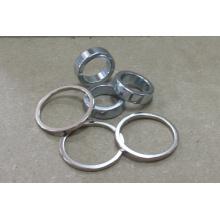 Ímãs de anel NdFeB com niquelagem, grau N45