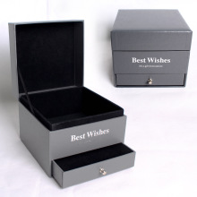Goods high definition for Gift Box With Drawer Double Layer Valentine Gift Box For Jewelry Flower supply to France Exporter