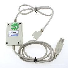 PLC Yumo Af-Dusb-2 La interfaz entre Fab y el puerto USB de la PC (Tipo de enchufe de frontispicio) Controlador lógico programable PLC