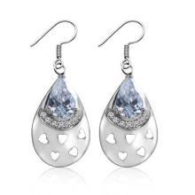 2014 Hot Fashion Classic Silver Wedding Earrings