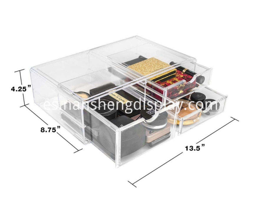 Makeup Storage Case Display Counter
