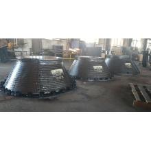 Manga de rodillo de desgaste de recubrimiento de carburo de cromo de metal doble