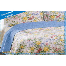 Bettdecke aus 100% Baumwolle mit Print (Steppdecke)