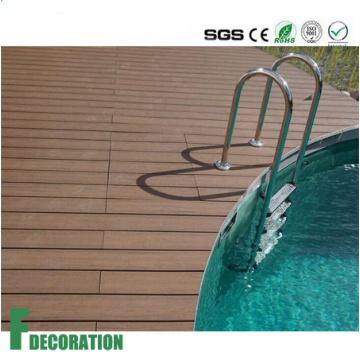 Competitive Price Various Colors Anti UV Wood Plastic Composite Deck Flooring