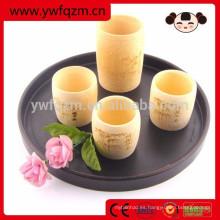 Taza de té japonesa de bambú al por mayor buena