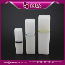 SRS free sample 50ml 120ml cosmetic PP white plastic lotion spray bottle