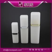 SRS amostra livre 50ml 120ml cosméticos PP branco plástico loção spray garrafa