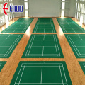 International standard badminton court mat vinyl golv