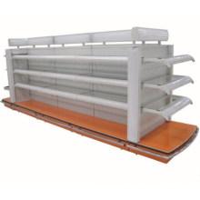 Luxury Style Lighted Supermarket Cosmetic Shelf with Glass Shelf Board (YD-M14)