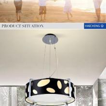 China home glass fabric pendant lights