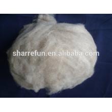 Cachemire velouté mongol filé fibre brune