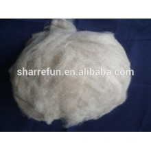 Pure Dehaired Raw Cashmere Fiber Brown