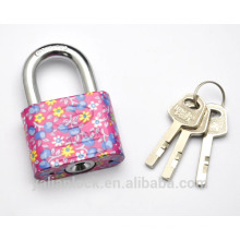 Color painted Disc mechanism high quality padlock