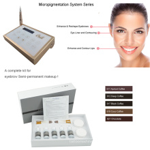 Инновационная система устройства микропигментации Цифровая перманентная макияжная машина 0-1