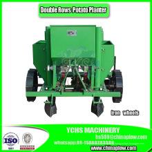 Plantador de batata de três pontas em duas fileiras