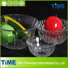 Bol de mélange de verre de nidification clair de haute qualité (TM23002)